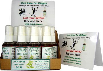 natural herbal sprays  for itch bites