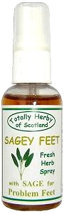 natural herbal Foot Spray for  refreshing sore feet and toes